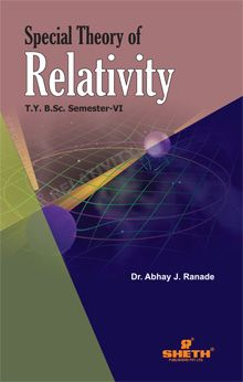 Special Theory of Relativity –T.Y.B.Sc.–Semester–VI
