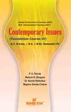 Cont. Issues (FC–IV)–S.Y.B.A.–Sem–IV