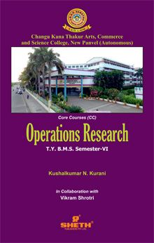 Operations Research–T.Y.B.M.S.–Sem.–VI