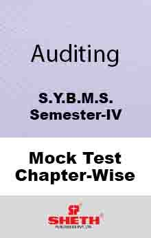 Aud.–BMS–IV–Mock Test (All Chapters)