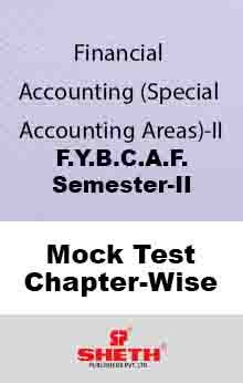 Fin. Acc.–BCAF–II–Mock Test (All Chapters)