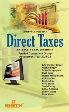 DIRECT TAXES-T.Y.B.M.S- Semester-V