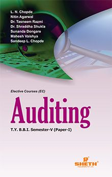 Auditing–(P–I)–T.Y.B.B.I.–(Sem.–V)
