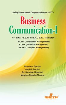 Business Communication–I–F.Y.B.M.S.–Semester–I