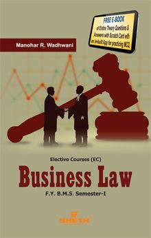 Business Law–F.Y.B.M.S.–Semester–I