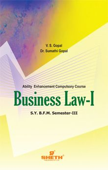 Business Law – I-S.Y.B.F.M- Semester-III