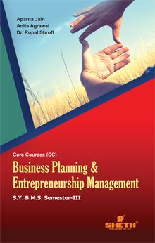 Business Planning & Entrepreneurial Management–S.Y.B.M.S–Semester–III–Jain