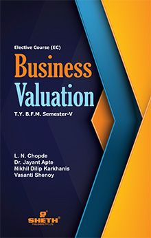 Business Valuation-T.Y.B.F.M-Semester-V