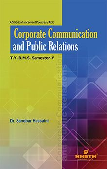 Corporate Communication and Public Relations a) Media Relations-T.Y.B.M.S- Semester-V