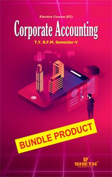 Corporate Accounting-T.Y.B,.F.M-Semester-V-Bundle Product