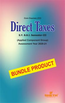 Direct Taxes- S.Y.B.B.I- Semester-III-Bundle Product