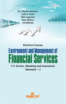 Environment and Management of Financial Services – F.Y.B.B.I. – Semester – I