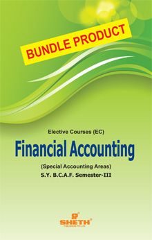 Financial Accounting (Special Accounting Areas)- S.Y.B.C.A.F-Semester-III - Bundle Product