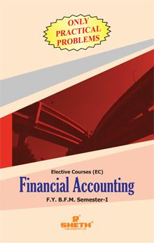 Financial Accounting (Practical Problems Only) – F.Y.B.F.M. – Semester – I