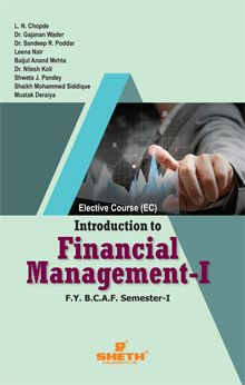 Introduction to Financial Management – I- F.Y.B.C.A.F- Semester-I