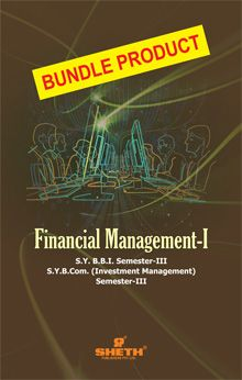 Financial Management–I–S.Y.B.B.I.–Semester–III-Bundle Product