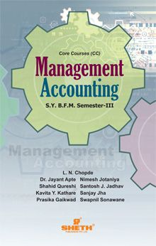Management Accounting-S.Y.B.F.M- Semester-III