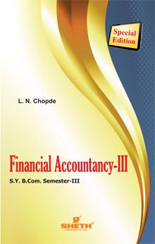 Financial Accountancy–III-B.Com - Semester-III